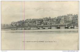 80  SAINT VALERY SUR SOMME N° 716 - LE QUAI BLAVET - Saint Valery Sur Somme