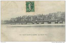 80  SAINT VALERY SUR SOMME N° 722 - LE QUAI BLAVET - Saint Valery Sur Somme