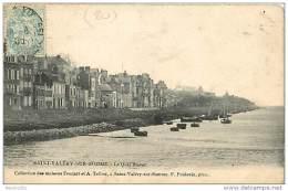 80  SAINT VALERY SUR SOMME N° 733 - LE QUAI BLAVET - Saint Valery Sur Somme