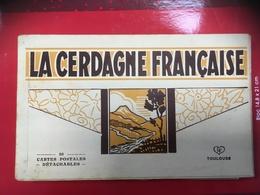La Cerdagne Francais Carnet 20 Cpa Ed Labouche Toulouse - Autres Communes