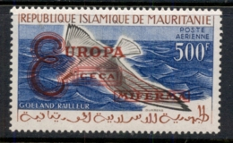 Mauritania 1962 Europa Opt On Bird MUH - Mauritania (1960-...)