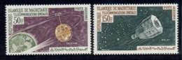 Mauritania 1963 Communication Through Space Saatellites MLH - Mauritania (1960-...)