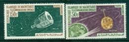 Mauritania 1963 Communication Through Space Telstar MUH Lot41684 - Mauritania (1960-...)