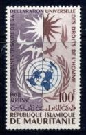 Mauritania 1963 Human Rights MLH - Mauritania (1960-...)