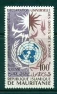Mauritania 1963 Human Rights MUH Lot41686 - Mauritania (1960-...)