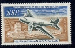 Mauritania 1963 Plane, Nouakchott Airport MLH - Mauritania (1960-...)