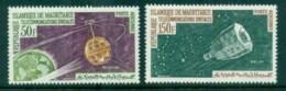 Mauritania 1963 Space Communication, Satellite MUH - Mauritania (1960-...)