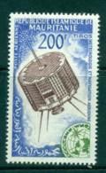 Mauritania 1963 Space Satellite Meterology MUH Lot41685 - Mauritania (1960-...)