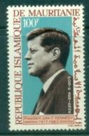 Mauritania 1964 JFK Kennedy In Memoriam MUH - Mauritania (1960-...)
