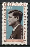 Mauritania 1964 JFK Kennedy MLH - Mauritania (1960-...)