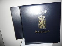 ALBUM DAVO BELGIQUE + ETUI + FEUILLES DAVO  BELGIQUE  1985/94  (vol. IV) - Reliures Et Feuilles