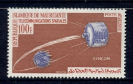 Mauritania 1964 Space Communication MLH - Mauritania (1960-...)