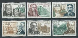 FRANCE 1966 . Série N°s 1470 à 1475 . Neufs ** (MNH) - France