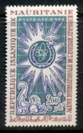 Mauritania 1967 Intl. Atomic Energy Commission MUH - Mauritania (1960-...)