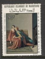 Mauritania 1967 Paintings By Ingres 90f MUH - Mauritania (1960-...)