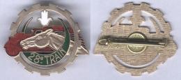 Insigne Du 28e Escadron Du Train - Armée De Terre