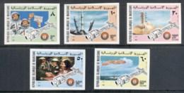 Mauritania 1975 Apollo-Soyuz Joint Russia/USA Space Project IMPERF MUH - Mauritania (1960-...)