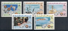Mauritania 1975 Apollo-Soyuz Joint Russia/USA Space Project MUH - Mauritania (1960-...)