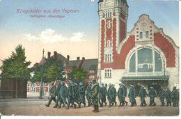 Vogesen - Vosges, Gefangene Alpenjäger - Chasseurs Alpins Piégés - Weltkrieg 1914-18