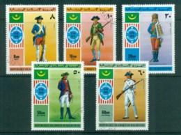 Mauritania 1976 American Bicentenary CTO - Mauritania (1960-...)