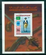 Mauritania 1976 American Bicentenary MS CTO - Mauritania (1960-...)