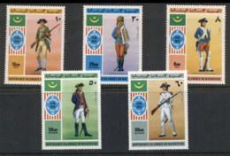 Mauritania 1976 American Bicentennial MUH - Mauritania (1960-...)