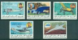 Mauritania 1977 History Of Aviation CTO - Mauritania (1960-...)