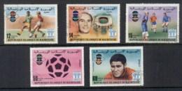 Mauritania 1977 World Cup Soccer CTO - Mauritania (1960-...)
