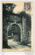 80 SAINT  VALERY SUR SOMME -  La Porte Entrée Du Vieux Château - Saint Valery Sur Somme