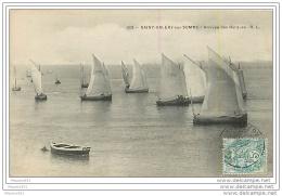 80 SAINT VALERY SUR SOMME -  Arrivée Des Barques - Saint Valery Sur Somme