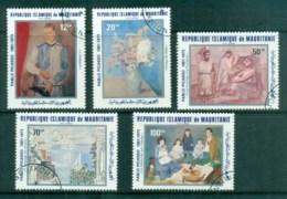Mauritania 1981 Picasso Birth Cent., Paintings CTO - Mauritania (1960-...)