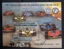 Mauritania 1982 Grand Prix 75th Anniv. MS CTO - Mauritania (1960-...)