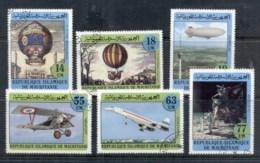 Mauritania 1982 Manned Flight Bicent. CTO - Mauritania (1960-...)