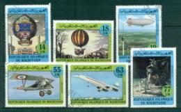 Mauritania 1982 Manned Flight Bicentenary CTO - Mauritania (1960-...)