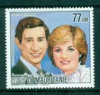 Mauritania 1984 Royal Wedding Charles & Diana MUH - Mauritania (1960-...)