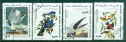 Mauritania 1985 Audubon Birds CTO - Mauritania (1960-...)