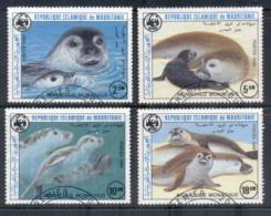 Mauritania 1986 WWF Monk Seals FU - Mauritania (1960-...)