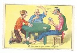 Et Pourtant On Joue Comme Des Pieds - Cartes à Jouer