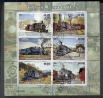 Mauritania 2003 Steam Trains MS CTO - Mauritania (1960-...)