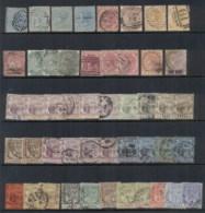 Mauritius 1879-1904 Assorted Oddments (faults) FU - Mauritius (1968-...)