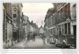 80 SAINT VALERY SUR SOMME - La Rue De La Ferté. Cpsm - Saint Valery Sur Somme