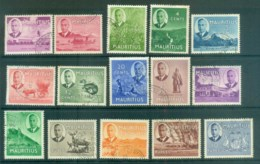Mauritius 1950 KGVI Pictorials FU Lot78082 - Mauritius (1968-...)