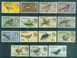 Mauritius 1965 Birds FU Lot78091 - Mauritius (1968-...)