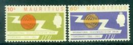 Mauritius 1965 ITU Centenary MUH - Mauritius (1968-...)