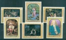 Mauritius 1968 Paintings, Paul & Virginie MUH Lot78103 - Mauritius (1968-...)