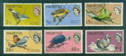 Mauritius 1968 Pictorials Birds, New ColoursFU - Mauritius (1968-...)