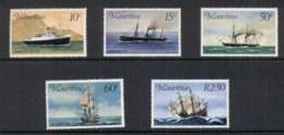 Mauritius 1976 Mail Carrier Ships MUH - Mauritius (1968-...)