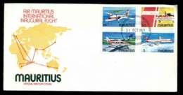 Mauritius 1977 Air Mauritius FDC Lot51563 - Mauritius (1968-...)