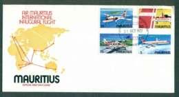 Mauritius 1977 Air Mauritius Planes FDC Lot50456 - Mauritius (1968-...)