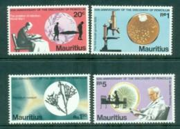Mauritius 1978 Penicillin Discovery 50th Anniv MLH Lot84734 - Mauritius (1968-...)